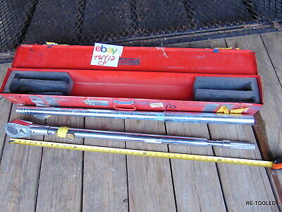 """70"""" Wright Tool 8447 1 in Drive Torque Wrench 200 - 1,000 FT LBS. Ratchet Head"""
