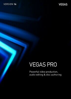 Sony Vegas Pro 16 ✔️ Professional Video Editing 64 Bit ✔️ Fast Digital Delivery
