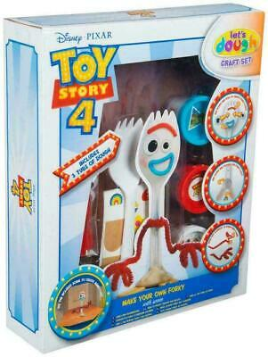 Kids Disney Toy Story 4 Make Your Own Forky With Scene | Craft Set 3 Dough New