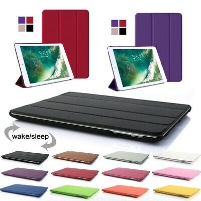 Magnetic Syn. Leather Smart Cover Case for Apple iPad 2 4th 5 6th Generation 9.7