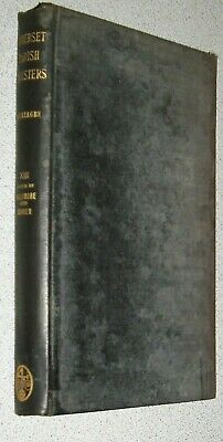 RARE 1910 Antique LIMITED 1st EDITION GENEALOGY (1500s-1800s) Somerset Parishes