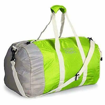 Travel Inspira Foldable Travel Duffle Bag Collapsible Packable Sport Gym Airline