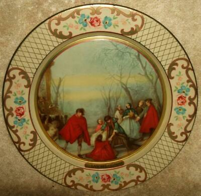 Early 1900's Dahar Decorative Ware Lithographed Tin Plate