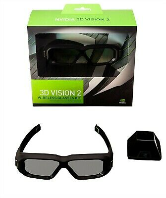 NVIDIA 3D Vision 2 Wireless Glasses Kit Requires NVIDIA 3D LightBoost monitor