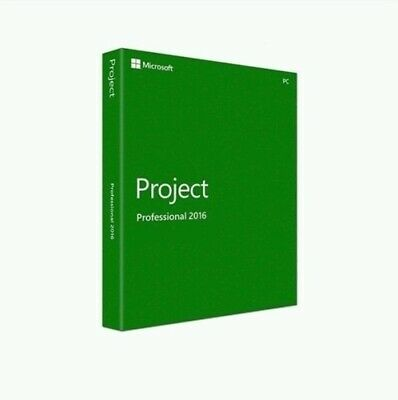 Microsoft Project 2016 Professional Product Genuine Key +Download Link