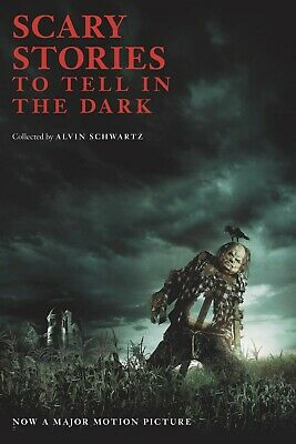 Scary Stories to Tell in the Dark Movie Tie-in by Alvin Schwartz Paperback NEW