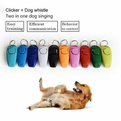 Pet Guide Click Dog Training Whistle Clicker Obedience Pet Trainer Click Puppy