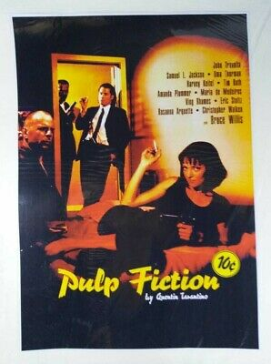 CLASSIC MOVIE PULP FICTION A3 SIZE MOVIE REPRINT POSTER RELEASE 21 May 1994