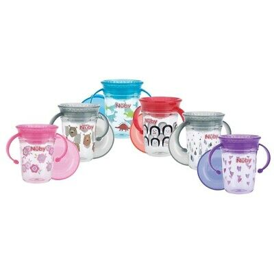 Nuby Tritan 360 Wonder Cup Drinkbeker 240 ml Assorti