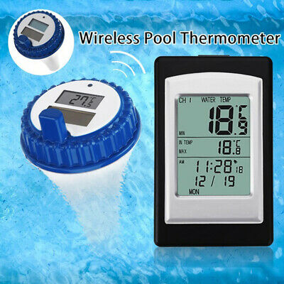 Solar Power Swimming Pool Thermometer Water Temperature Floating 2019