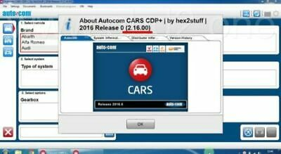 Autocom Cars, Vans And Trucks Diagnostic Software 2016.0. + Activation Free ;-)