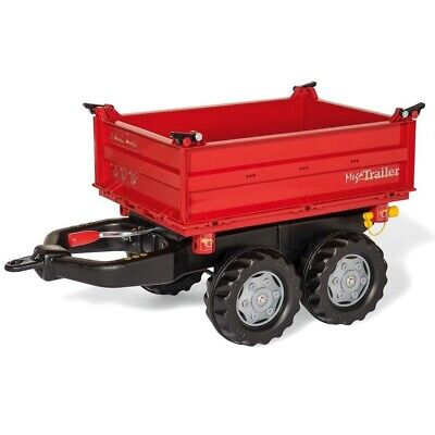 Rolly Toys 123018 RollyMega Trailer Rood