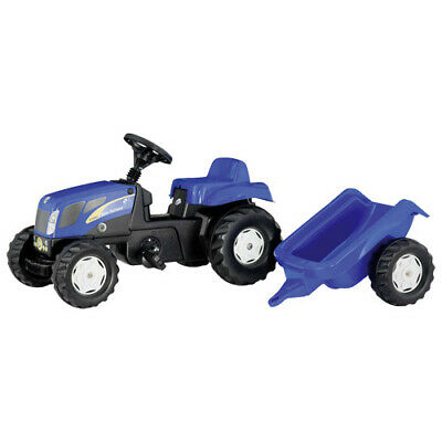 Rolly Toys 013074 RollyKid Tractor + Aanhanger
