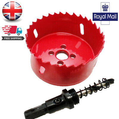 UK 15-200mm Metal M42 HSS Hole Saw Cutter Drill Bit For Aluminum Iron Pipe Wood