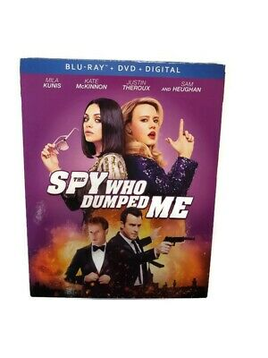 The Spy Who Dumped Me Blu-ray With DVD and Digital Copy Slip Cover New