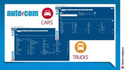 Autocom +Delph! Cars,Vans And Trucks Diagnostic Software 2016+Activation Free:-)