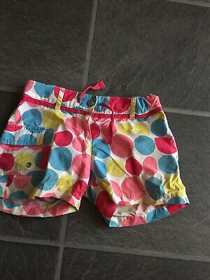 Girls Mini Boden Spotty Shorts Age 11 Years