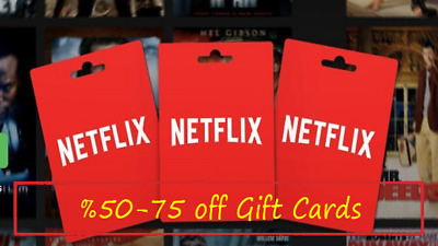 How To Get Netflix Gift Cards 50-75% off & Resell Netflix Gift Cards
