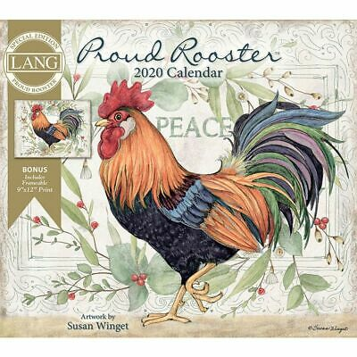 Proud Rooster Special Edition Wall Calendar