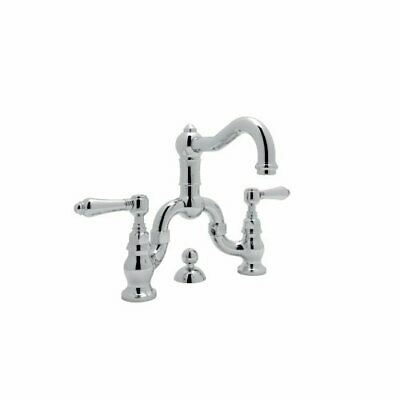 Rohl A1419LMAPC-2 Polished Chrome Country Bath Bridge Bathroom Faucet with