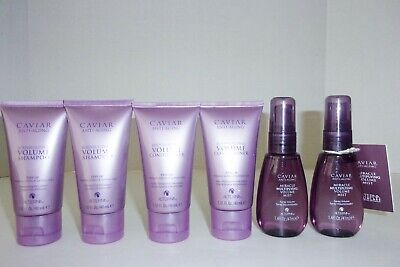 Alterna Caviar Lot 1.35 oz Volume Shampoo & Conditioner Miracle Multiplying Mist