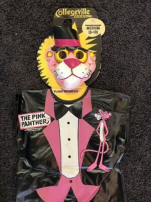 Vintage Pink Panther Halloween Costume 1970's Rare