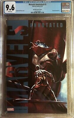 Marvels Annotated #3 Cgc 9.6 Gabriele Dell'otto Variant 2019