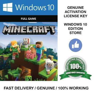 🔥 Minecraft Windows 10 Edition (🔑ACTIVATION KEY, FULL GAME, PC ONLY) INSTANT🔥