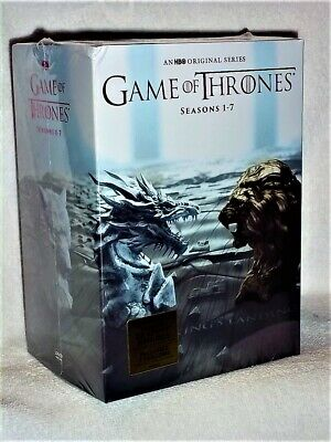Game of Thrones The Complete Seasons 1-7 (DVD, 2017, 35-Disc) Peter Dinklage NEW
