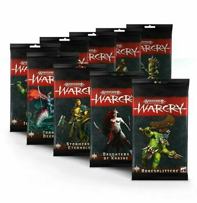 Warhammer Age of Sigmar Warcry Cards E