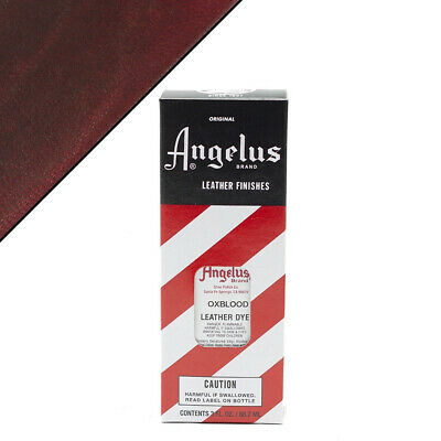 C--062 Angelus Permanent Leather Dye With Applicator 3Oz All Colors