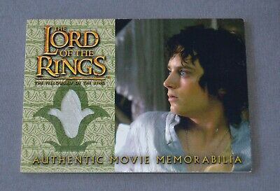 Lord of the Rings Costume Card Topps Prop Frodo's Elven Nightshirt Elijah Wood