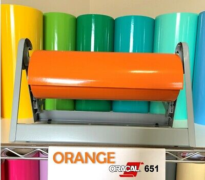 ORACAL 751 GLOSSY Vinyl Rolls 12 Inch x 6 Feet - 79 Assorted