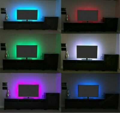 USB Power Supply LED Strip 3528 1M Tape TV Background Lighting Decorative Lamp