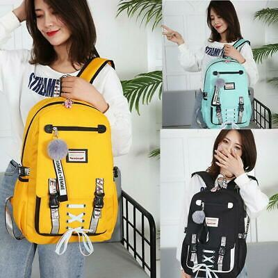 Large school bags for teenage girls usb with lock Anti theft backpack women 2019