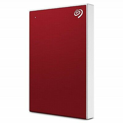 SEAGATE BACKUP PLUS PORTABLE HDD 5 TB RED PORTABLE EXTERNAL HARD DISK NEW st