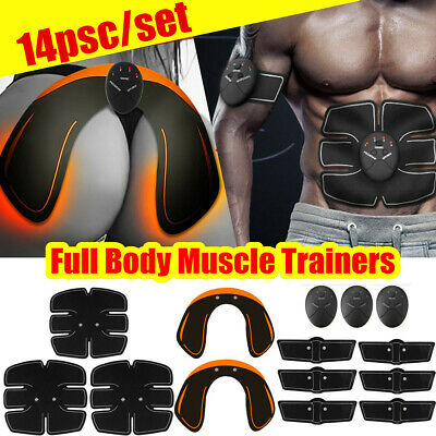 US Abdominal Muscle Trainer Stimulator EMS Hip Buttocks Lifter Training