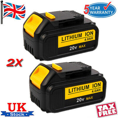 For DeWalt DCB184 18v 5.0Ah Li-Ion Battery XR Lithium Ion 5 Amp DCB182 DCF885 UK