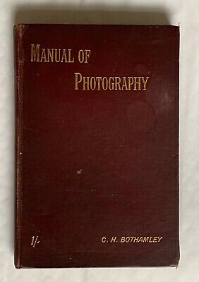 The Ilford Manual of Photography, Vintage Small Hardback Book, Early 1900's