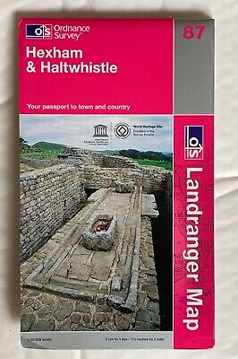 OS Landranger map  no- 87,  Hexham & Haltwhistle