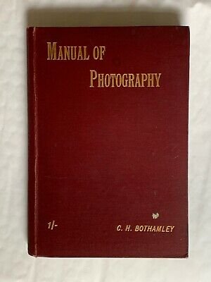 The Ilford Manual of Photography,Small Vintage Hardback Book, Early 1900's