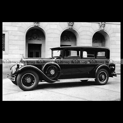 #pha.026767 Photo PACKARD DELUXE EIGHT 7-PASSENGER SEDAN LIMOUSINE 1929 Car Auto