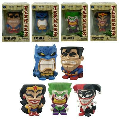 Dc Comics Teekeez Stackable Vinyl Tiki Collectible 8Cm Figures