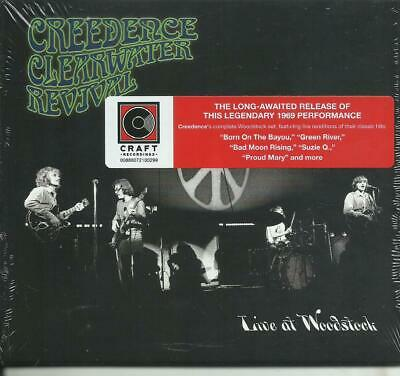 CREEDENCE CLEARWATER REVIVAL - Live at woodstock (2019) CD digipack