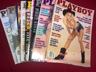 Playboy Magazines Lot of 10