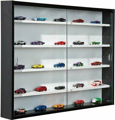 Interlink Display Cabinet Collecty Glass Wall Mount Collectables Shelves Unit