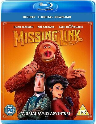 Missing Link  Bluray (Region Code Not Required )