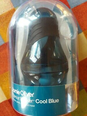 Jamie Oliver Flavour Shaker BNIB crushes grinds blends mixes and more Cool Blue