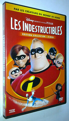 Coffret 2 Dvd Les Indestructibles - Disney N° 78 -