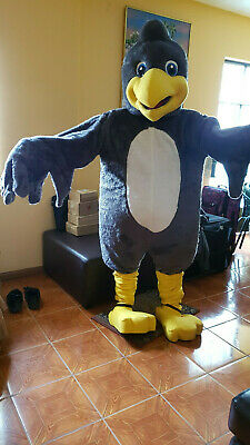Halloween Crow Mascot Costume Adult Size Children Party Mascot FREE SHIPPING